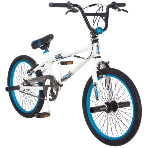 Amazon.com : Mongoose Boy's Crush Freestyle Bike, 20-Inch ...