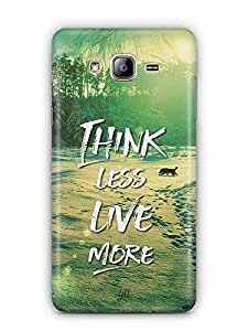 YuBingo Think Less. Live More Designer Mobile Case Back Cover for Samsung Galaxy On 5