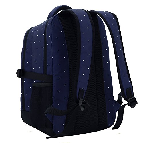 damero travel backpack diaper bag with changing pad blue. Black Bedroom Furniture Sets. Home Design Ideas