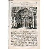 LE MAGASIN PITTORESQUE - Livraison n°019 - Eglise de Saint Thibault (Côte d'Or).