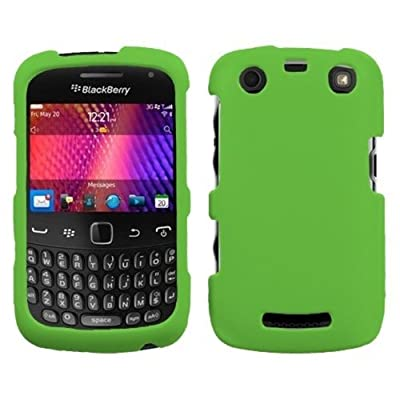 Asmyna BB9360HPCSO350NP Premium Durable Protective Case for BlackBerry Curve 9630 - 1 Pack - Retail Packaging - Dr.Green by Asmyna