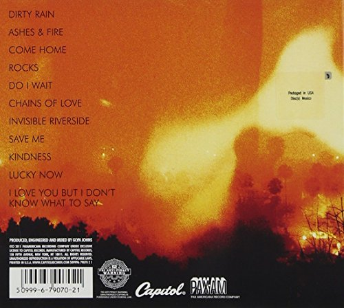 Original album cover of Ashes & Fire by Ryan Adams