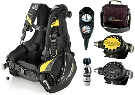 cressi travelight scuba dive gear package for travel ebay