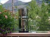 Original Big Berkey includes a Big Berkey with ceramic filters, 1 Waterbob, and 2 Berkey sport bottles.