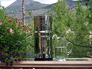 "Big Berkey BK4X2-CF With 2 9"" Ceramic Filters"