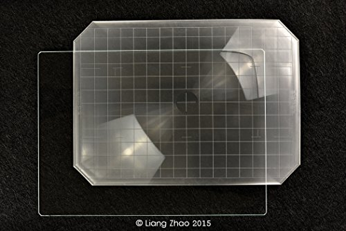 Yanke I57-S2 Intenscreen (Type B) pour verre Sinar P2 F2, 5 x 7 x caméras; 182.0 132.0 x 1,0