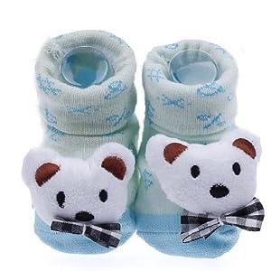 EOZY Oso Blanco Tejer Bebé Recién Nacido Animal Zapatos Botas Botines marca EOZY en BebeHogar.com
