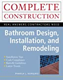 img - for Bathroom Design, Remodeling and Installation by Pamela Korejwo (1999-10-13) book / textbook / text book