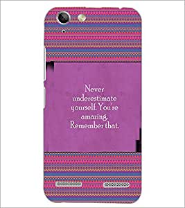 PrintDhaba Quote D-4157 Back Case Cover for LENOVO VIBE K5 PLUS (Multi-Coloured)