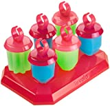 Tovolo Freezer Jewel Pop Molds, Set of 6