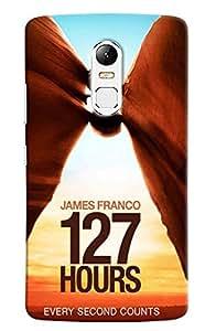 Omnam James Franco 127 Hours Unstoppable Journey Printed Designer Back Cover Case For Lenovo Vibe X3
