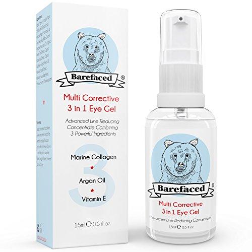 bebarefaced-3-en-1-creme-contour-des-yeux-gel-avec-collagene-marin-lhuile-dargan-et-la-vtamine-e