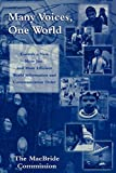 img - for Many Voices, One World: Towards a New, More Just, and More Efficient World Information and Communication Order (Critical Media Studies: Institutions, Politics, and Culture) book / textbook / text book