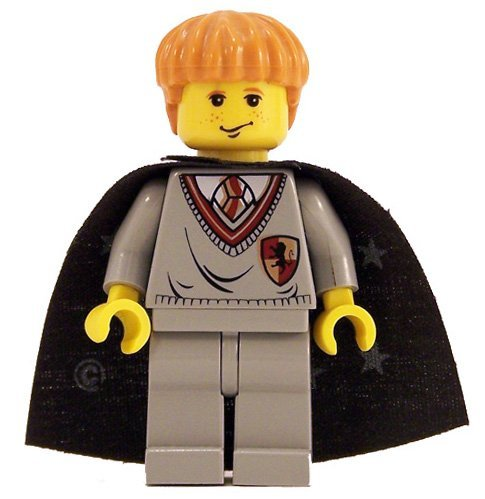 Picture of LEGO Ron Weasley (Gryffindor Shield Torso, YF) - LEGO Harry Potter 2