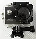 SJCAM Wi-Fi スポーツカメラ 日本語対応 1.5インチ TFT 液晶モニター  連写、循環録画、シームレス連結 (ブラック)