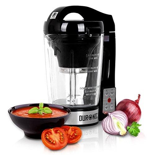 Duronic BL78 - Frullatore soup maker multifunzione in vetro 800W - Crea deliziose zuppe con la semplicità di un tocco!