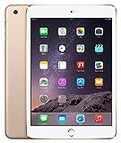 【第三世代】アップル (2014) SIMフリー iPad mini 3 Wi-Fi + Cellular【米国並行輸入品】(128GB, ゴールド Gold)