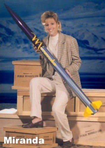 Public Missiles PML Flying Model Rocket Kit Miranda
