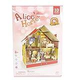 ドールハウス 3D Craft model クリスマスシリーズ アリスホーム