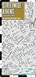 Streetwise Athens Map - Laminated City Center Street Map of Athens, Greece - Folding pocket size travel map with metro map