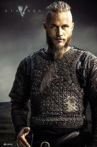 GB eye, Vikings, Ragnar Lothbrok, Maxi Poster, 61x91.5cm