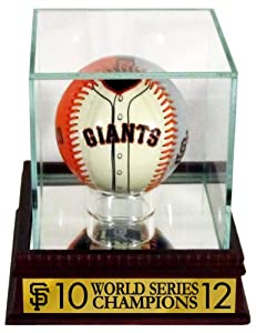 San Francisco Giants Jersey Baseball with 2010 12 World Series Champions Customized... by Sports Gallery Authenticated