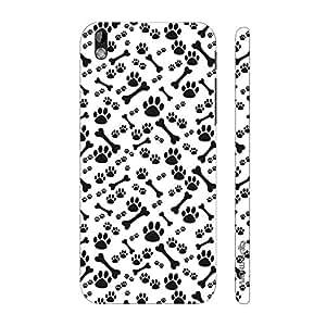Enthopia Designer Hardshell Case Dog N The Bone Back Cover for HTC Desire 816