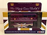 Corgi Commemorative Die-Cast Souvenir Classic Routemaster - The 90th Birthday of HM Queen Elizabeth II