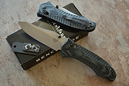 Benchmade 950 Rift Osborne Tactical Axis Lock Knife W/ Free Benchmade Mini Sharpener
