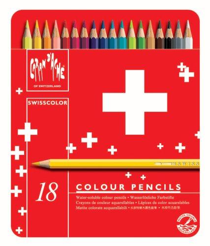 Caran d-Ache Swisscolor Aquarel 18's