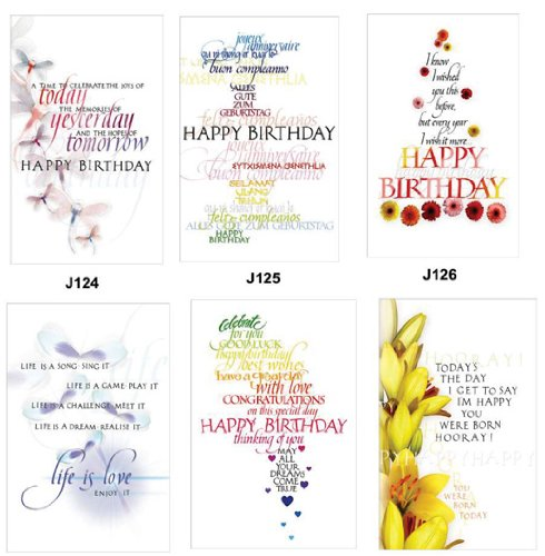 BULK SAVINGS-30 COLORFUL BIRTHDAY CARDS WITH