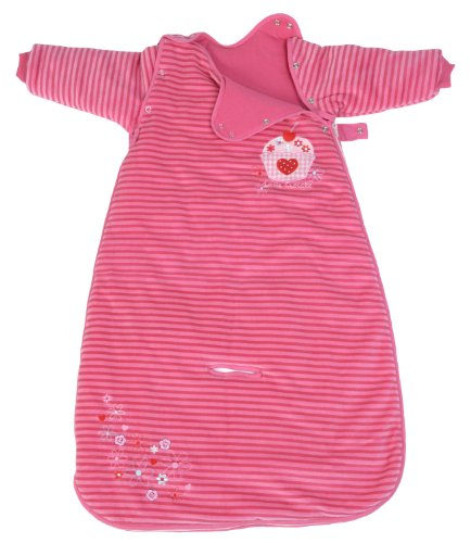 LIMITED OFFER! The Dream Bag Baby Sleeping Bag Long Sleeved Travel Cupcake 0-6 Months 2.5 TOG - Pink - 1