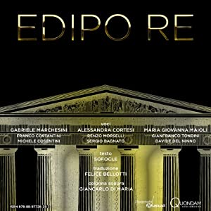 Edipo re [Oedipus Rex] Audiobook