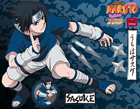 Wall Graphix: Sasuke Brawl 23 x 29