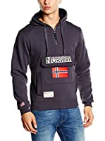 Geographical Norway Sudadera con Capucha Gymclass (Negro mate)