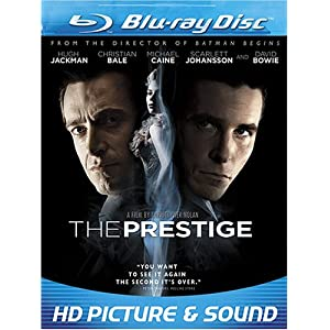 The Prestige [Blu-ray] $6.96