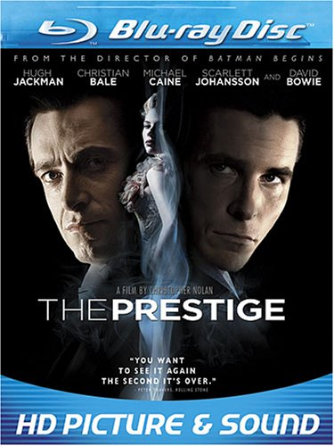 Cover art for  The Prestige [Blu-ray]