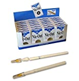 NIC-OUT SUPER SLIM Cigarette Filters 1 Carton/Box 24 Packs (500 Filters) 5-6mm Smoking Free Tar & Nicotine Disposable Nicout Holders for Smokers DON'T QUIT SMOKING Nicfree