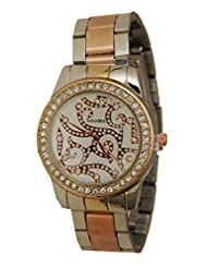COSMIC STAINLESS STEEL STONE STUDDED WOMEN WATCH - B017HDITCS