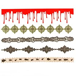 Martha Stewart Crafts Stickers Vampire Diecut Borders By The Package