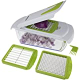Freshware KT-402 4-in-1 Onion Chopper, Vegetable Slicer, Fruit and Cheese Cutter