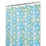 InterDesign Ringo Shower Curtain - Blue/Green