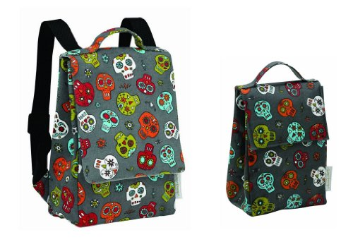 Ore Sugarbooger Kiddie Play Pack And Classic Lunch Sack, Dia De Los Muertos (Day Of The Dead)