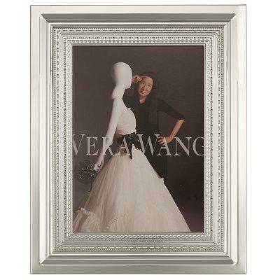 Cornice Foto Vera Wang Wedgwood Placcata Argento 8x10 - Il Perfetto Regalo di Matrimonio