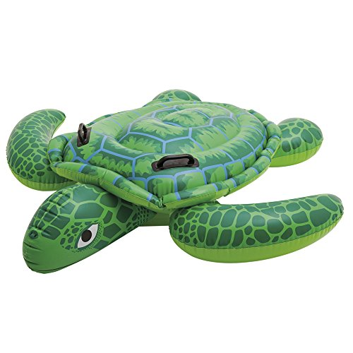 "Intex Sea Turtle Ride-On, 75"" X 67"", for Ages 3+ - 1"