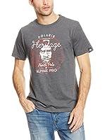 Alpine Pro Camiseta Manga Corta TIBERIO 4 (Gris Oscuro)