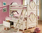 Doll House Twin/Full Bunk Bed