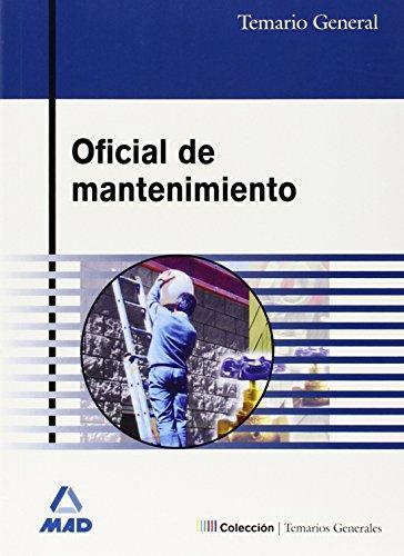 OFICIAL DE MANTENIMIENTO. TEMARIO GENERAL