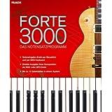 """Forte 3000 - Das Notensatzprogrammvon """"Franzis Verlag GmbH"""""""