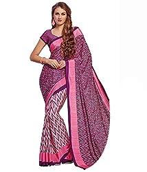 Pushkar Sarees Crepe Saree (Pushkar Sarees_49_Multi-Coloured)